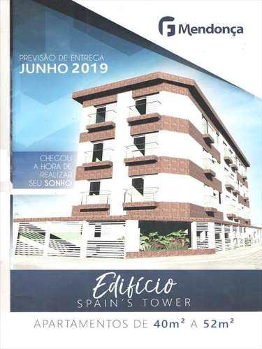 Apartamento, código 1300 em Cubatão, bairro Jardim Casqueiro