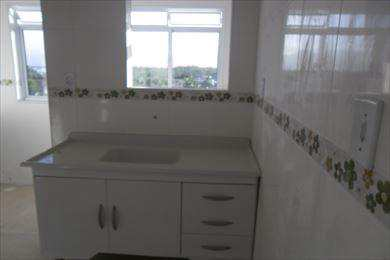 Apartamento, código 1204 em Cubatão, bairro Jardim Casqueiro