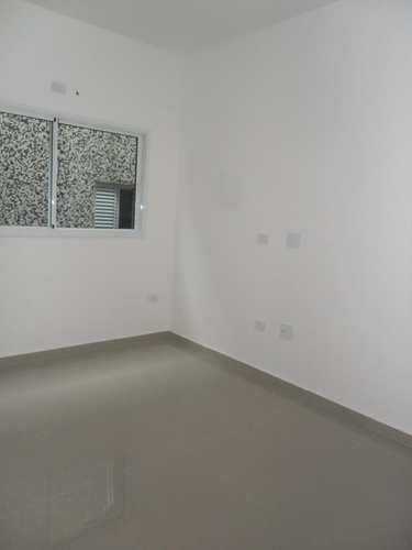 Apartamento, código 24493 em Cubatão, bairro Jardim Casqueiro