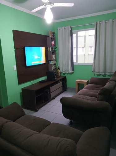 Apartamento, código 24628 em Cubatão, bairro Parque São Luis
