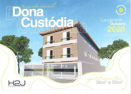 Apartamento, código 24659 em Cubatão, bairro Jardim Casqueiro