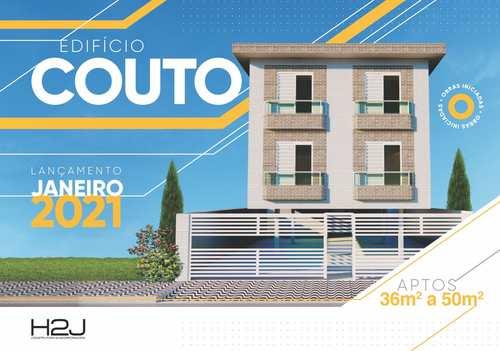 Apartamento, código 24666 em Cubatão, bairro Jardim Casqueiro