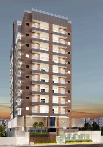 Apartamento, código 24703 em Praia Grande, bairro Guilhermina