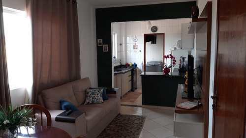 Apartamento, código 24731 em Cubatão, bairro Jardim Casqueiro