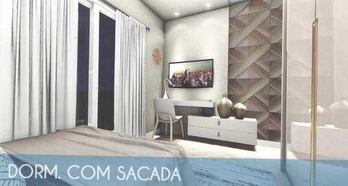 Apartamento, código 24835 em Cubatão, bairro Vila Nova