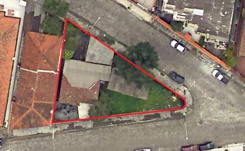 Terreno, código 24885 em Cubatão, bairro Jardim Casqueiro
