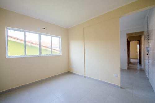Apartamento, código 24898 em Cubatão, bairro Jardim Casqueiro