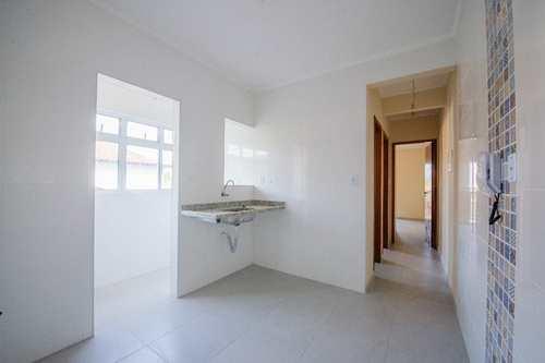 Apartamento, código 24901 em Cubatão, bairro Jardim Casqueiro