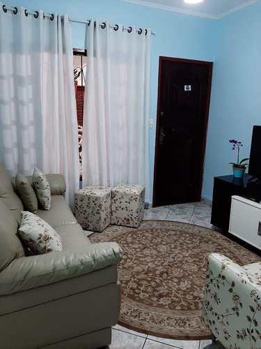 Apartamento, código 24910 em Cubatão, bairro Vila Paulista