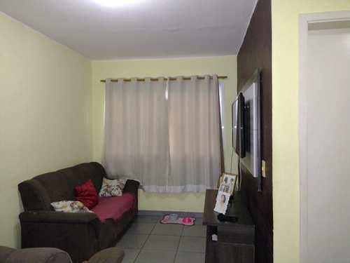 Apartamento, código 24953 em Cubatão, bairro Parque São Luis