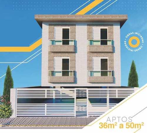 Apartamento, código 24972 em Cubatão, bairro Jardim Casqueiro