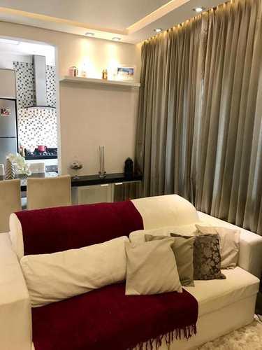 Apartamento, código 24976 em Cubatão, bairro Jardim Casqueiro