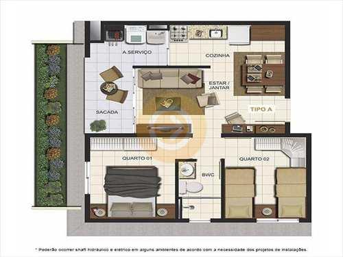 Apartamento, código 6748 em Bauru, bairro Parque Viaduto