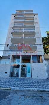 Apartamento, código 3875 em Praia Grande, bairro Mirim