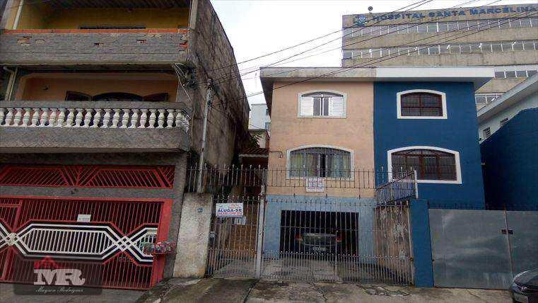 Sobrado em São Paulo, no bairro Vila Carmosina