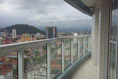 Apartamento, código 621 em Santos, bairro Boqueirão