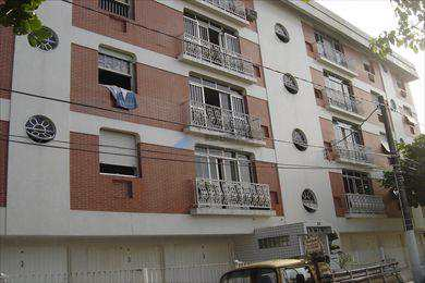 Apartamento, código 284 em Santos, bairro Embaré
