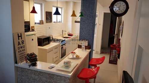 Apartamento, código 678 em Santos, bairro Gonzaga