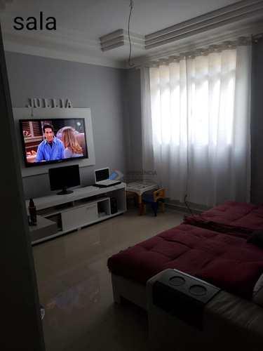 Sobrado de Condomínio, código 702 em São Vicente, bairro Vila Voturua