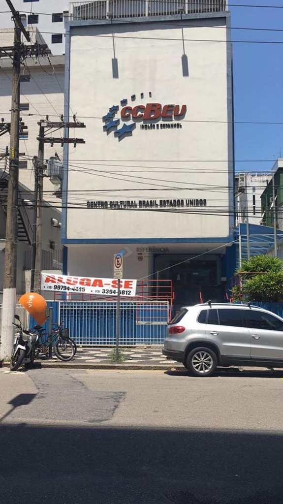 Prédio Comercial em Santos, no bairro Gonzaga