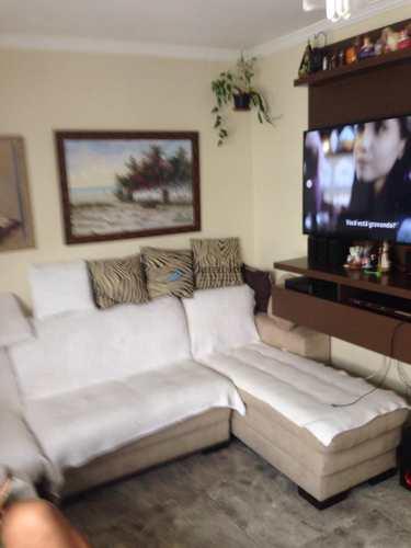 Apartamento, código 726 em Santos, bairro Aparecida
