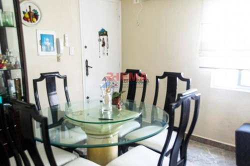 Apartamento, código 728 em Santos, bairro Aparecida