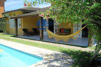 Casa de Condomínio, código 533 em São Sebastião, bairro Baleia