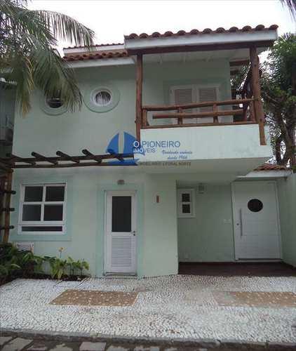 Casa de Condomínio, código 384 em São Sebastião, bairro Camburi