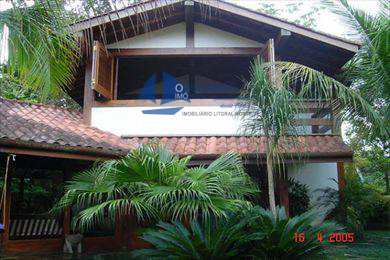 Casa, código 348 em São Sebastião, bairro Juréia