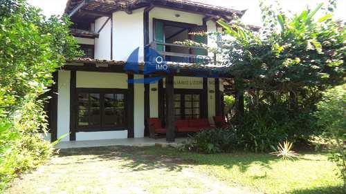 Casa de Condomínio, código 55 em São Sebastião, bairro Barra do Sahy