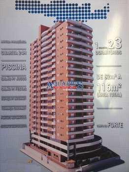 Apartamento, código 171672 em Praia Grande, bairro Canto do Forte