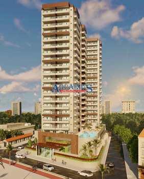 Apartamento, código 174526 em Praia Grande, bairro Mirim