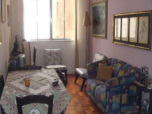 Apartamento, código 91020 em São Vicente, bairro Itararé