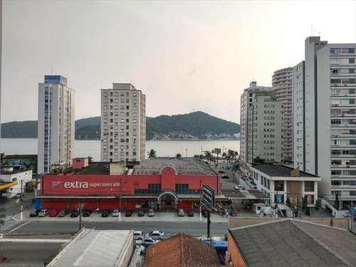 Apartamento, código 22051 em São Vicente, bairro Centro
