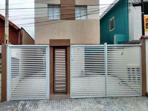 Apartamento, código 22003 em São Vicente, bairro Vila São Jorge