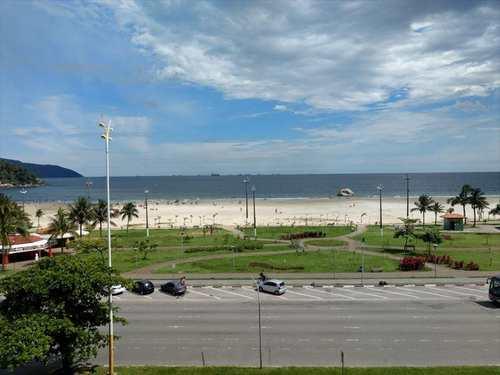 Apartamento, código 21018 em São Vicente, bairro Itararé