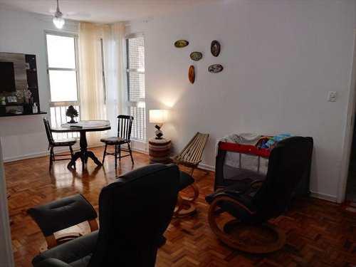 Apartamento, código 22030 em São Vicente, bairro Itararé