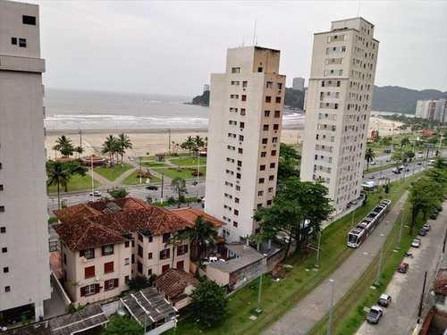 Apartamento, código 8998 em São Vicente, bairro Itararé