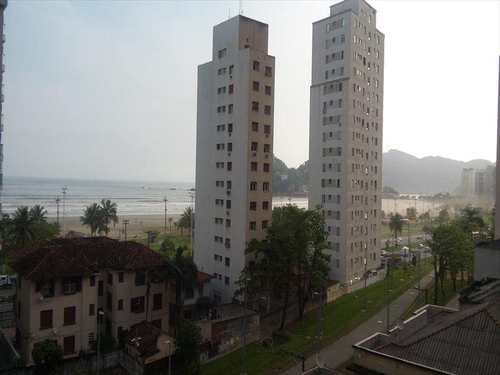 Apartamento, código 8927 em São Vicente, bairro Itararé