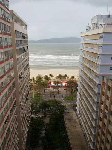Apartamento, código 8879 em São Vicente, bairro Itararé