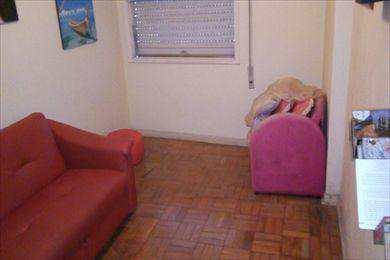 Apartamento, código 8610 em São Vicente, bairro Itararé