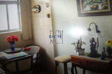 Apartamento, código 8496 em São Vicente, bairro Itararé