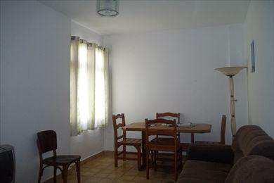 Apartamento, código 8436 em São Vicente, bairro Itararé