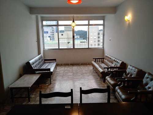 Apartamento, código 3505 em São Vicente, bairro Itararé