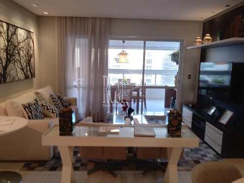 Apartamento, código 3435 em São Vicente, bairro Centro