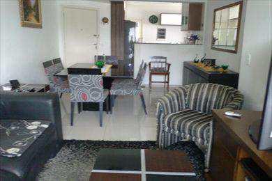 Apartamento, código 3421 em São Vicente, bairro Itararé