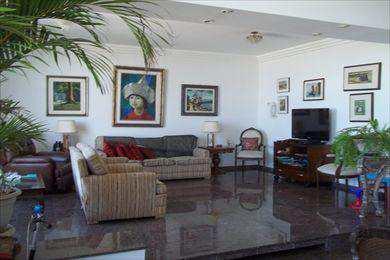 Apartamento, código 3360 em São Vicente, bairro Itararé