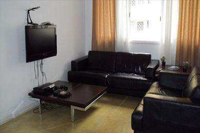 Apartamento, código 3306 em São Vicente, bairro Centro