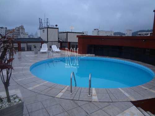 Apartamento, código 3259 em São Vicente, bairro Centro