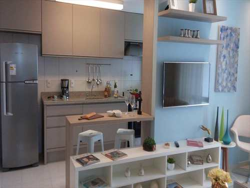 Apartamento, código 2967 em São Vicente, bairro Vila Valença